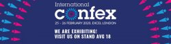 We are exhibiting at Confex 2020!